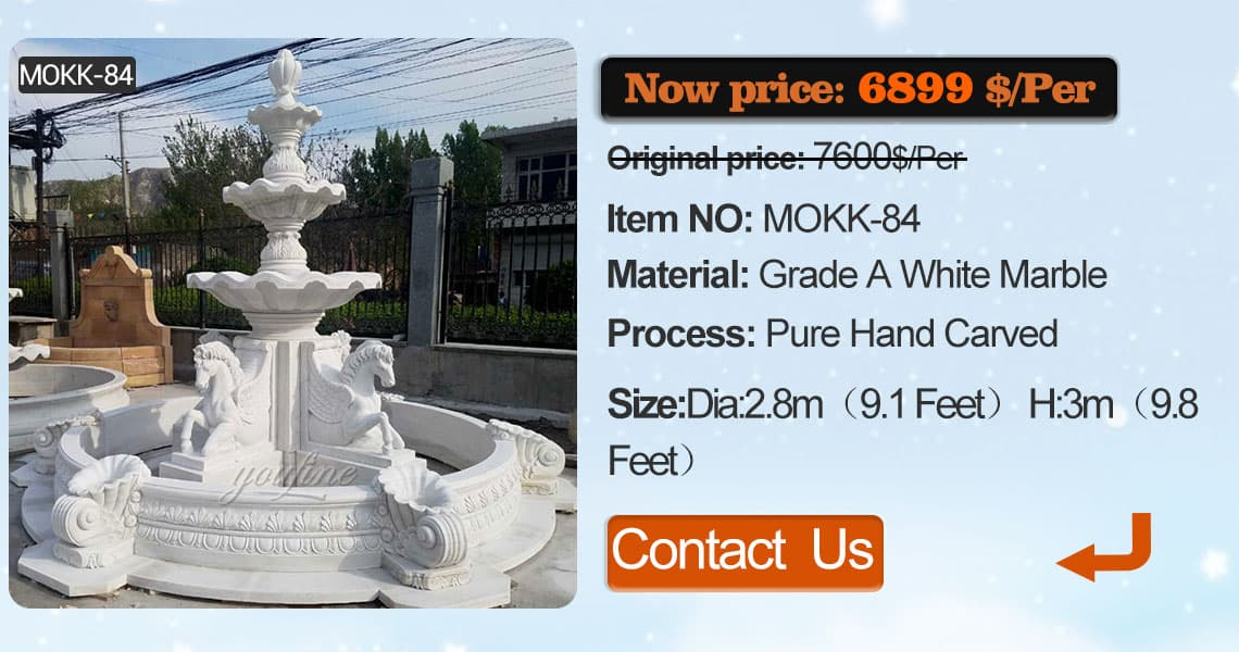 Shop outdoor tier stone water fountain with elephant China