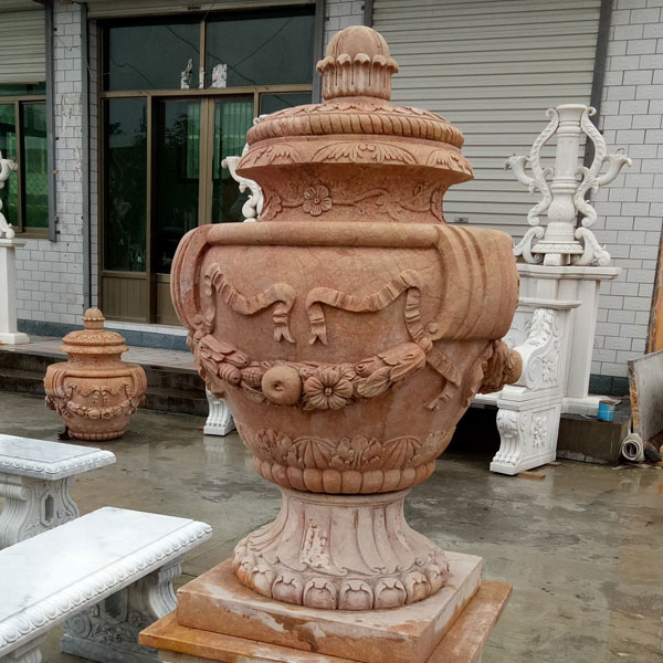 entryway french style planter urn for decor