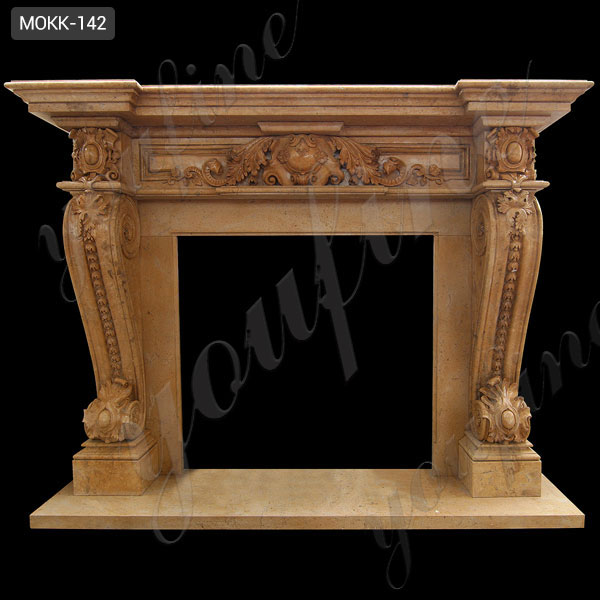 neoclassical arched limestone fireplace surrounds home depot ...