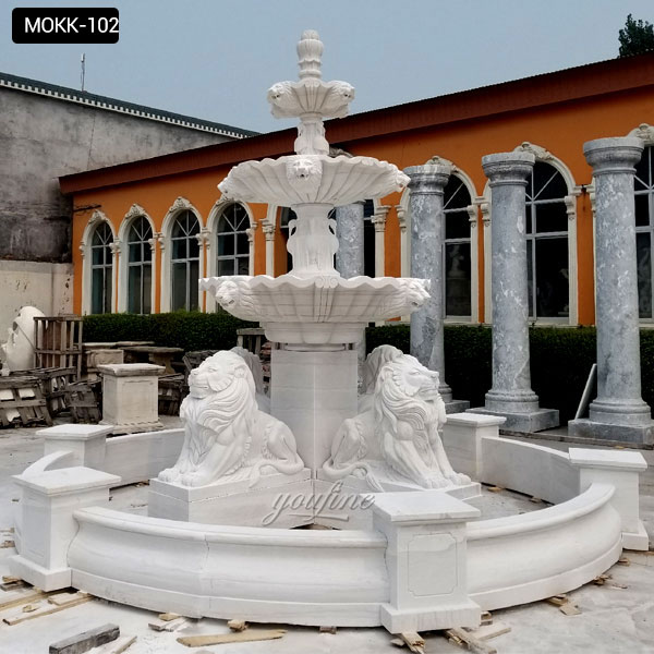 2 tier outdoor fountain | eBay