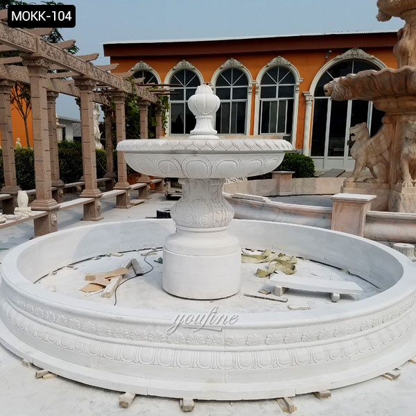 Massarelli's Extra Large Outdoor Fountains w/ Pools