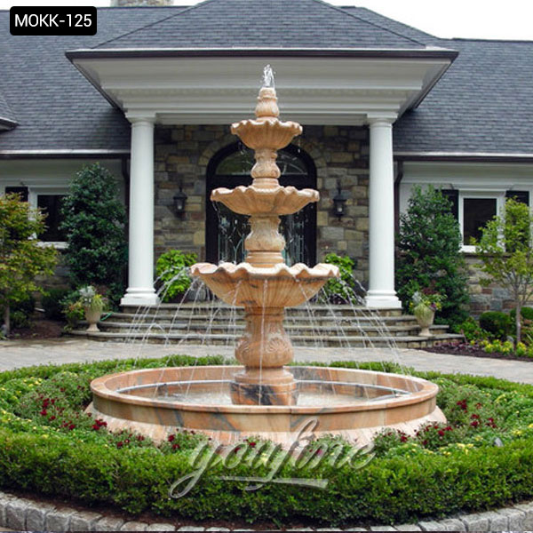 Tiered Fountains at Pond and Fountain World