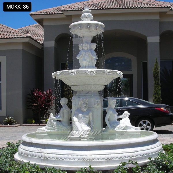 House of the Large 2 tier stone water fountain supplier ...