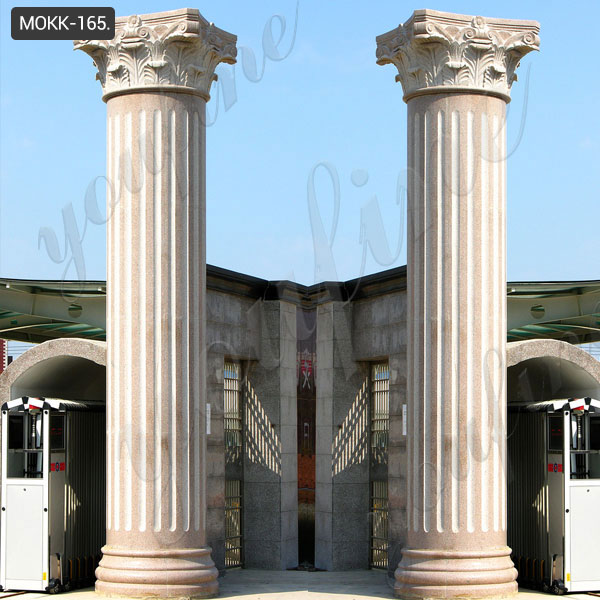 tall roman columns exterior porch posts and columns prices ...