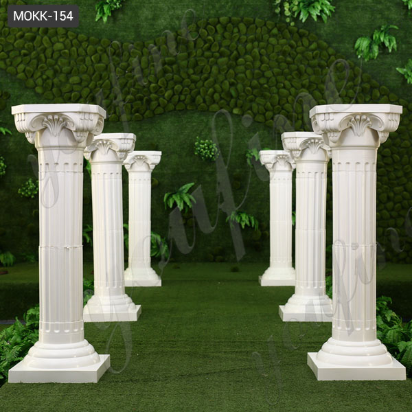 modern roman doric column interior support fluted columns ...