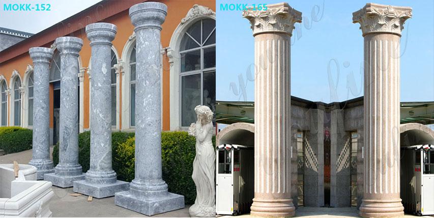 Large-Antique-Round-Marble-Column-for-Sale-Doric-Order-Column-for-Exterior-Houses-From-Home-Depot-MOKK-109