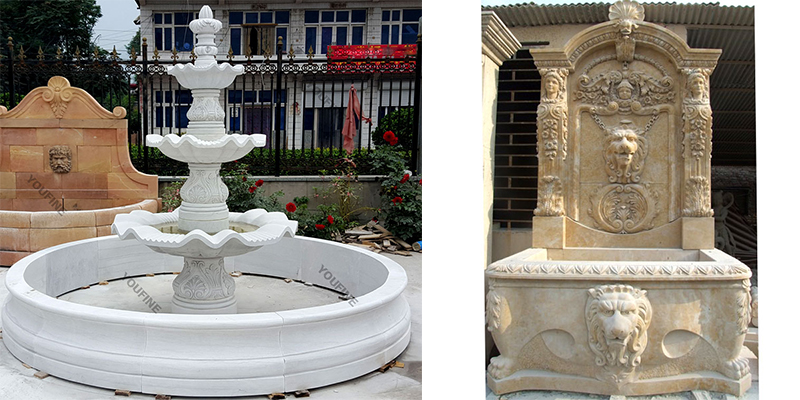 fountain for garden decor,