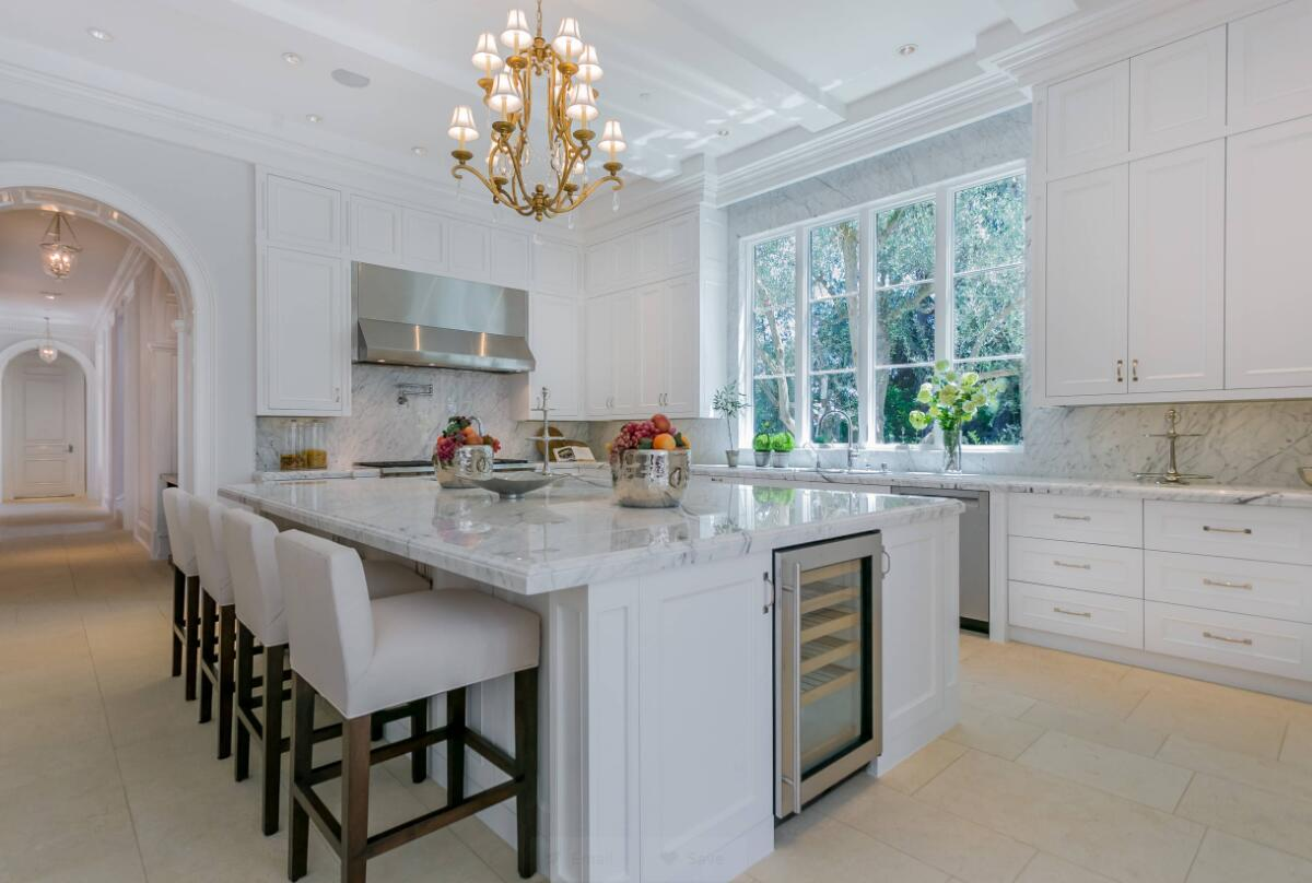 kitchen Benedict Residence stone project