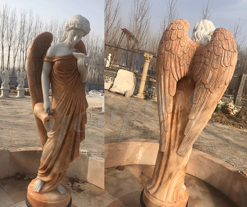 large outdoor water fountain statues for sale