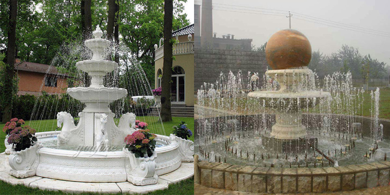 life size tiered fountain,