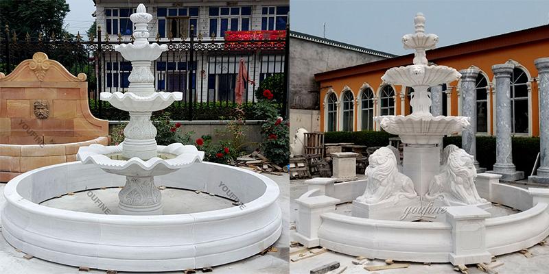 water fountain for backyard decor,