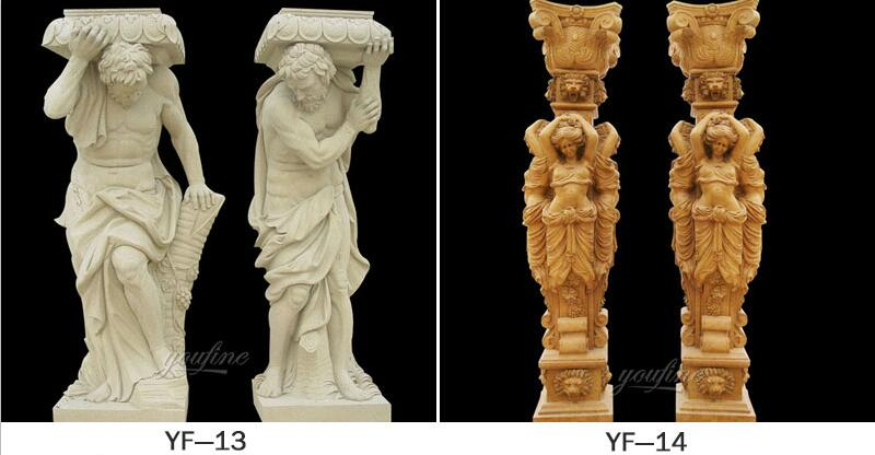caryatid column for sale