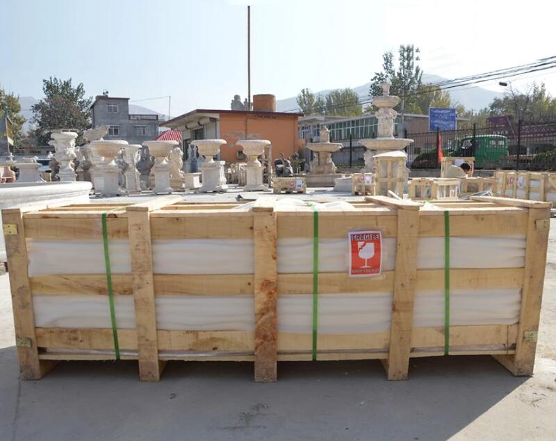 package of large marble column