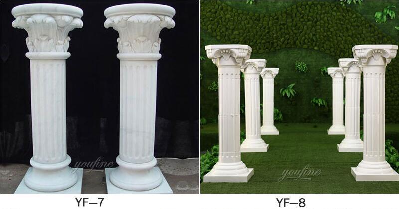 wedding pillars decorations for sale