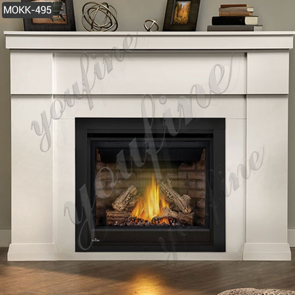 Simple Design Home Indoor Decoration Marble Fireplace Supplier MOKK-495