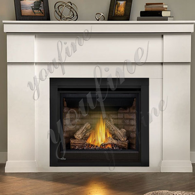 Simple Design Home Indoor Decoration Marble Fireplace
