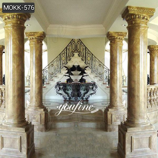 High Quality Granite Marble Column for Home Decor for Sale MOKK-576